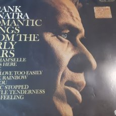 Discos de vinilo: FRANK SINATRA ROMANTIC SONGS FROM THE EARLY YEARS. Lote 222153588