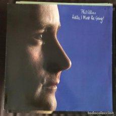 Discos de vinilo: PHIL COLLINS - HELLO, I MUST BE GOING! - LP WEA ALEMANIA 1982. Lote 222153648