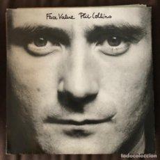 Discos de vinilo: PHIL COLLINS - FACE VALUE - LP WEA ALEMANIA 1981. Lote 222154093