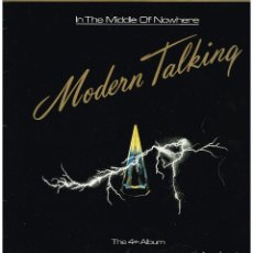Discos de vinilo: MODERN TALKING - IN THE MIDDLE OF NOWHERE - LP 1986. Lote 222154100
