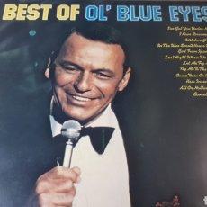 Discos de vinilo: FRANK SINATRA BEST OF OL BLUE EYES. Lote 222154930