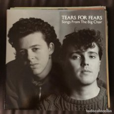Discos de vinilo: TEARS FOR FEARS - SONGS FROM THE BIG CHAIR (1985) - LP MERCURY SPAIN 1991. Lote 222155216
