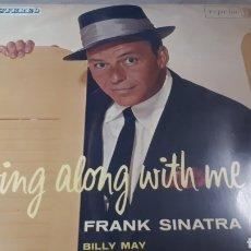 Discos de vinilo: FRANK SINATRA SWING ALONG WITH ME. Lote 222156200