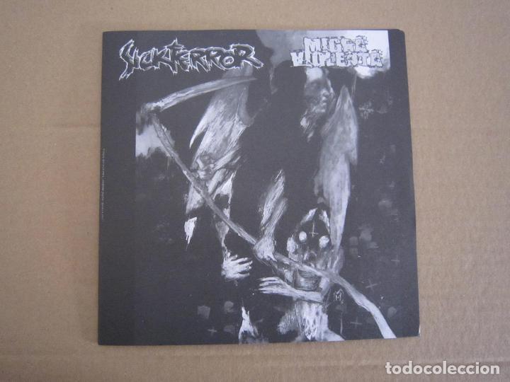 EP - SPLIT - GRIND CORE / HARD CORE - SICKTERROR Y MIGRA VIOLENTA - 2004 (Música - Discos de Vinilo - EPs - Punk - Hard Core)