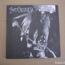 Discos de vinilo: EP - SPLIT - GRIND CORE / HARD CORE - SICKTERROR Y MIGRA VIOLENTA - 2004. Lote 222159338