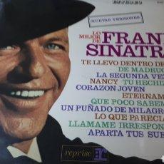 Discos de vinilo: FRANK SINATRA LO MEJOR. Lote 222163126
