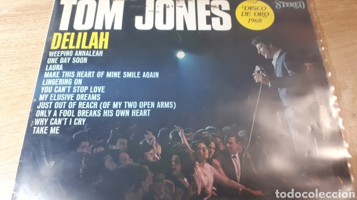 TOM JONES DELILAH (Música - Discos - LP Vinilo - Pop - Rock Extranjero de los 50 y 60)