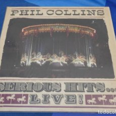 Discos de vinilo: EXPRO DOBLE LP PHIL COLLINS SERIOUS HITS LIVE 1990 MUY BUEN ESTADO 6. Lote 222164893