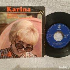 Discos de vinilo: KARINA - CONCIERTO PARA ENAMORADOS + 3 - EP ESPAÑA HISPAVOX AÑO 1966 - AUGUSTO ALGUERO. Lote 222165186