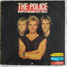 "Discos de vinilo: THE POLICE - WRAPPED AROUND YOUR FINGER (12"") (A&M RECORDS) (1983/ES). Lote 222165750"