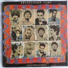 "Discos de vinilo: TRANSVISION VAMP - (I JUST WANNA) B WITH U (12"") (MCA RECORDS) (1991/ES). Lote 222166207"