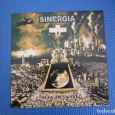 Discos de vinilo: LP - METALCORE - SINERGIA (ALEA JACTA EST) - 2002. Lote 222167645