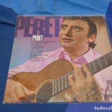 Discos de vinilo: EXPRO LP RUMBA CATALANA PERET IDEM Y SUS GITANOS 67 ESTADO ACEPTABLE. Lote 222169478