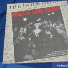 Discos de vinilo: EXPRO LP ROXETTE LOOK SHARP ESPAÑA 88 BUEN ESTADO GENERAL. Lote 222173486