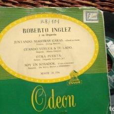 Discos de vinilo: E.P. ( VINILO) DE ROBERTO INGLEZ Y SU ORQUESTA. Lote 222175806