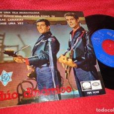 Discos de vinilo: DUO DINAMICO EN UNA ISLA MARAVILLOSA/YO BUSCO UNA MUCHACHA COMO TU/ISLAS CANARIAS +1 EP 1965 LA VO. Lote 222176416