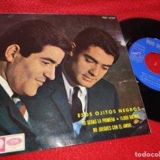 Discos de vinilo: DUO DINAMICO ESOS OJITOS NEGROS/TU SERAS LA PRIMERA/11.000 BIKINIS/+1 7'' EP 1965 LA VOZ DE SU AMO. Lote 222176603