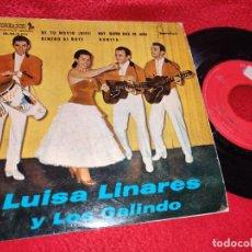 Discos de vinilo: LUISA LINARES Y LOS GALINDO DE TU NOVIO ¡QUE!/DINERO AL BOTE/RUBITA +1 EP 1961 TOREADOR. Lote 222177071