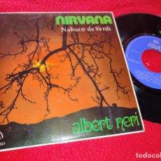 Discos de vinilo: ALBERT NERI NIRVANA/AGAIN/AS TIME GOES BY CASABLANCA/MY FOOLISH HEART EP 1972 FIDIAS EXCELENTE ESTAD. Lote 222177255