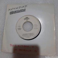 Discos de vinilo: JOSSIE ESTEBAN Y LA PATRULLA 15 - YO ME SIENTO ENAMORADO. Lote 222177873