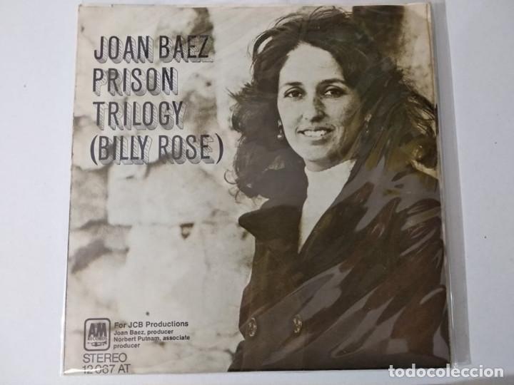 JOAN BAEZ / CANCION DE BANGLA DESH / TRILOGIA DE LA PRISION (SINGLE 1972) (Música - Discos - Singles Vinilo - Cantautores Extranjeros)