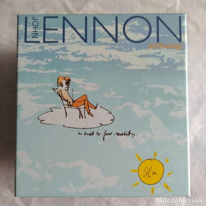 JOHN LENNON - ANTHOLOGY (BOX + 4XCD) (CAPITOL RECORDS) (1998) (Música - Discos de Vinilo - Singles - Pop - Rock Extranjero de los 80)
