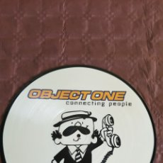 Discos de vinilo: OBJECT ONE ( CONNECTING PEOPLE) PICTURE. Lote 222189401