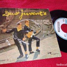 Discos de vinilo: DUO JUVENT'S YO SOY UN ROCKER/NO EXISTE EL AMOR/BAILANDO TWIST +1 EP 1962 VERGARA. Lote 222191777