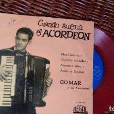 Discos de vinilo: E.P. (VINILO) DE GOMAR Y SU CONJUNTO AÑOS 50. Lote 222194097