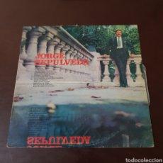 Discos de vinilo: JORGE SEPULVEDA 1972. Lote 222194791