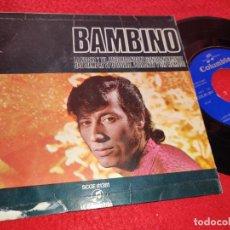 Discos de vinilo: BAMBINO LA NOCHE Y TU/¡ERRANTE Y SIN RUMBO!/RECORDANDOTE CONSTANTEMENTE +1 EP 1970 RUMBA. Lote 222194921
