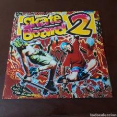 Discos de vinilo: SKATE BOARD 2 BLANCO Y NEGRO MUSIC - DOBLE LP. Lote 222197611