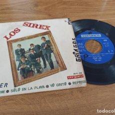 Discos de vinilo: LOS SIREX / OLVIDAME / SÓLO EN LA PLAYA / YO GRITO / REPRISE. Lote 222198833