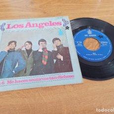Disques de vinyle: LOS ANGELES / 98.6 / ME HACES SENTIRME TAN DICHOSO. Lote 222199015