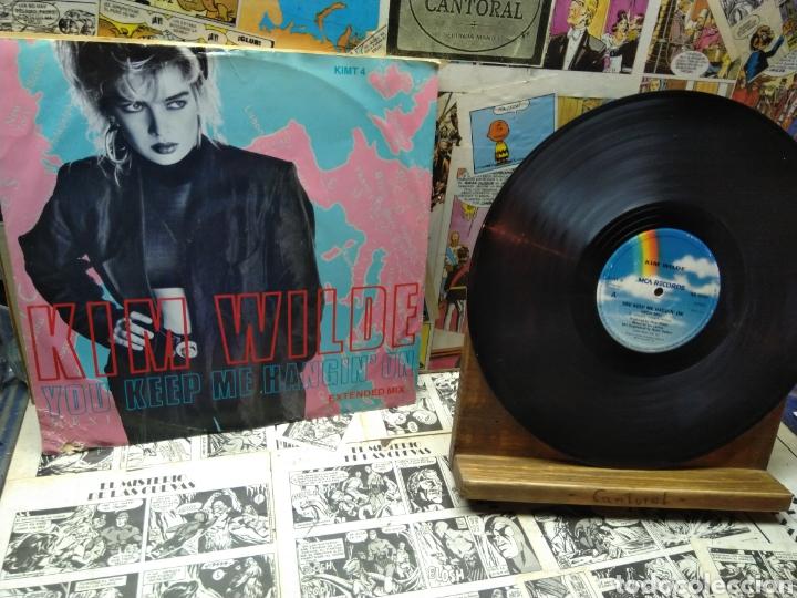 004. KIM WILDE. YOU JEEP ME HANGIN ON (Música - Discos de Vinilo - EPs - Rock & Roll)