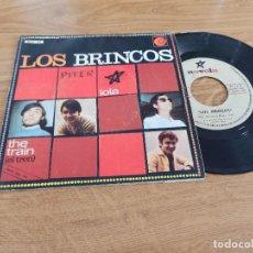 Discos de vinilo: LOS BRINCOS / LOLA / THE TRAIN. Lote 222200463