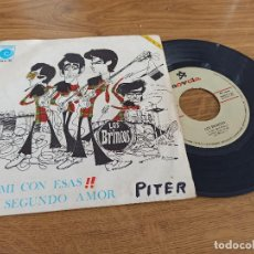 Discos de vinilo: LOS BRINCOS / A MÍ CON ESAS / EL SEGUNDO AMOR. Lote 222200637