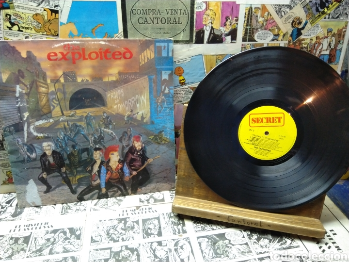 004. THE EXPLOITED. TROOPS OF TOMORROW (Música - Discos - LP Vinilo - Punk - Hard Core)