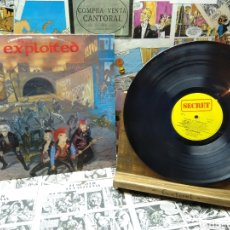 Disques de vinyle: 004. THE EXPLOITED. TROOPS OF TOMORROW. Lote 222201270