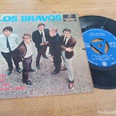 Discos de vinilo: LOS BRAVOS / SYMPATHY / SHOW ME / I´M ALL EARS / I´M WEARING A SMILE. Lote 222201553
