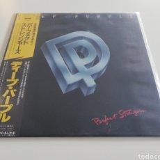 Discos de vinilo: VINILO EDICIÓN JAPONESA DEL LP DE DEEP PURPLE PERFECT STRANGERS. Lote 222203661