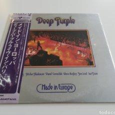 Discos de vinilo: VINILO EDICIÓN JAPONESA DEL LP DE DEEP PURPLE MADE IN EUROPE. Lote 222204032