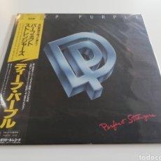 Discos de vinilo: VINILO EDICIÓN JAPONESA DEL LP DE DEEP PURPLE PERFECT STRANGERS. Lote 222213273