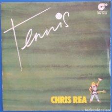 Discos de vinilo: SINGLE / CHRIS REA / TENNIS - IF YOU REALLY LOVE ME / MAGNET MO 1935 / PROMO / 1980. Lote 222215035