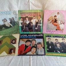 Discos de vinilo: LOS ANGELES LOTE 6 SINGLES AÑOS 60 EN EXCELENTE ESTADO VER MAS INFORMACION. Lote 222215172