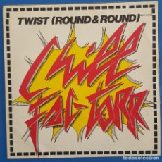 Discos de vinilo: SINGLE / CHILL FAC-TORR / TWIST - ROUND 'N' ROUND / PHILLY WORLD RECORD - ZAFIRO OOX-602 / 1983. Lote 222215606