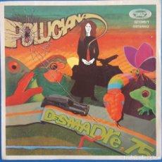 Discos de vinilo: SINGLE / DESMADRE 75 / POLUCIANA - EL APLASTAOR / MOVIEPLAY 02.1245/1 / 1977. Lote 222216375