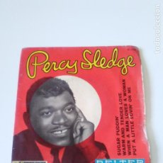 Discos de vinilo: PERCY SLEDGE WARM AND TENDER LOVE / WHEN A MAN LOVES A WOMAN / SUGAR PUDDIN ( 1966 BELTER SP ). Lote 222216503