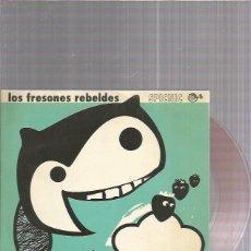 Discos de vinilo: FRESONES REBELDES AL AMANECER (VINILO ROJO). Lote 222217036