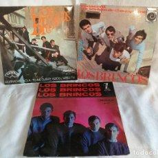Discos de vinilo: LOS BRINCOS LOTE 3 EPS. AÑOS 60 EXCELENTE ESTADO VER FOTOS Y MAS INFORMACION. Lote 222217273